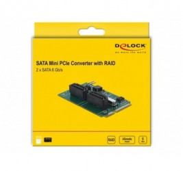 KARTA MINI PCIE-2X SATA...