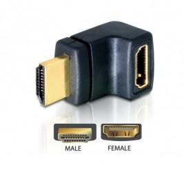 ADAPTER HDMI(M)-HDMI(F)...