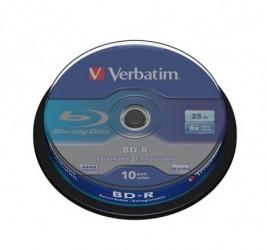 BD-R VERBATIM 25GB X6 (10...