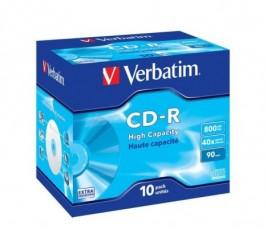 CDR VERBATIM 800MB EXTRA...