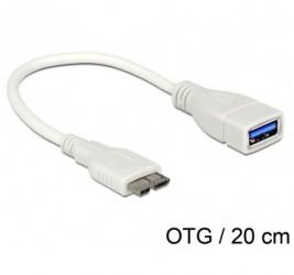 KABEL USB MICRO(M)-USB-A(F)...