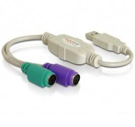 ADAPTER USB-PS/2 X2 DELOCK