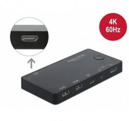 SWITCH KVM DELOCK HDMI+USB...