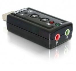 KARTA DŹWIĘKOWA DELOCK 7.1 USB