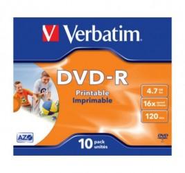 DVD-R VERBATIM 4.7GB X16...