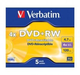 DVD+RW VERBATIM 4.7GB X4...